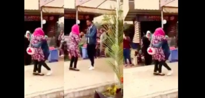 Egypt-University-expels-female-student-for-hugging-male-student