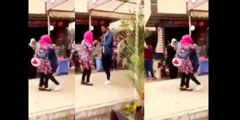 Egypt-University-expels-female-student-for-hugging-male-student