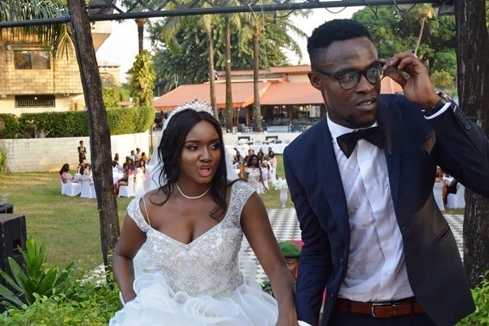 Le mariage en couleur d'une ex miss guinéenne à un footballeur ghanéen