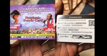 Heavenly-subscription-cards-sold-to-church-members-in-Nigeria-lailasnews