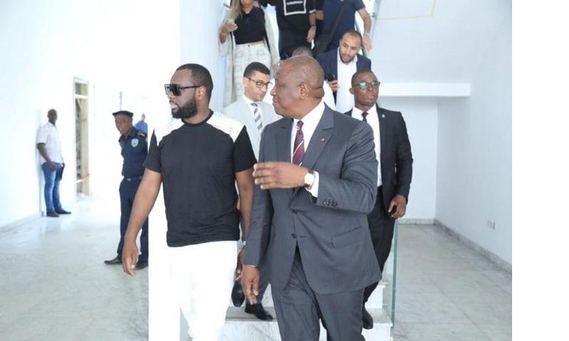 Maître Gims Abidjan