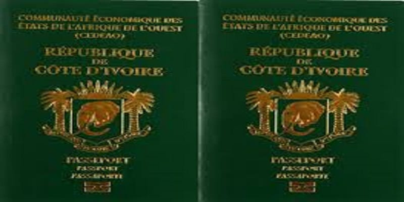 passport ivoirien