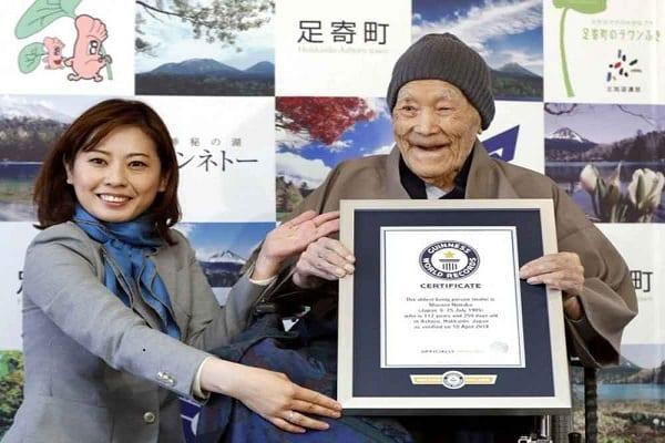 Japon: L'homme le plus vieux du monde est décédé-Photo