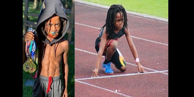 Âgé de 7 ans, ce petit garçon est le prochain Usain Bolt (vidéo)