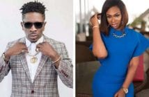 Shatta-Wale-proposes-to-long-time-girlfriend-Shatta-Michy-on-stage-lailasnews-600×400