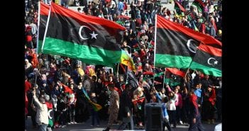 Libyans mark the fourth anniversary of the uprising