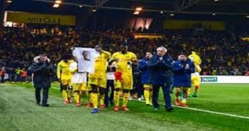 hommage FC Nantes