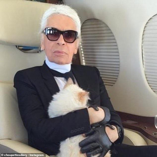 Mort de Karl Lagerfeld: Voici l'immense fortune laissée que pourrait hériter sa chatte (photos)