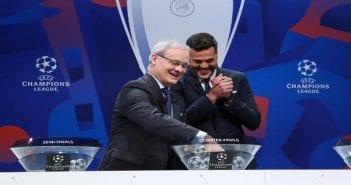 Champions League – Quarter Finals and Semi Finals Draw