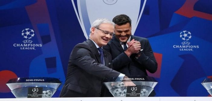 Champions League – Quarter Finals and Semi Finals Draw