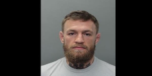 Arrestation de Conor McGregor en Floride — Etats-Unis