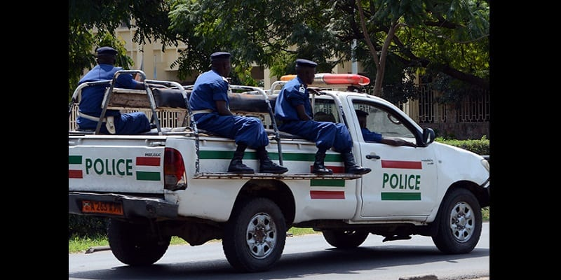 Burundi-Bujumbura-Police