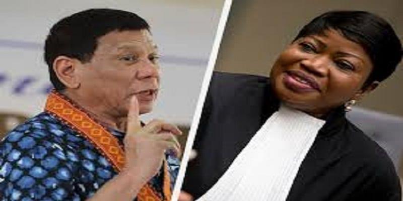 Duterte vs Bensouda