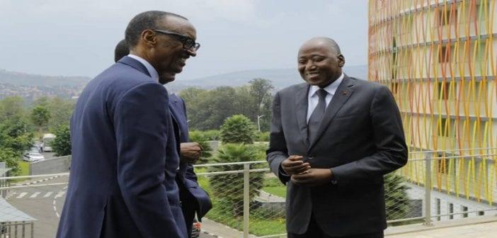 Le PM et Kagamé