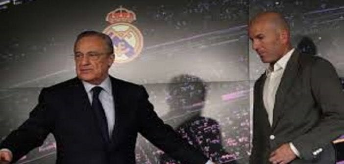 Pérez et Zidane