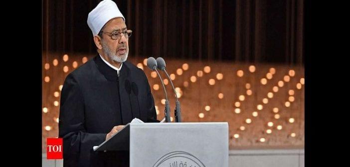 « La polygamie est une injustice envers les femmes… », dixit le grand imam égyptien  Photo-702x336