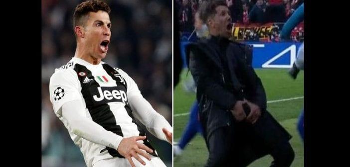 Juventus-Atletico Madrid : La sanction de Ronaldo est enfin tombée pour son geste