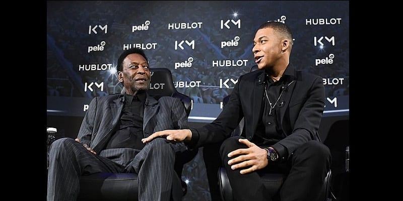 Kylian Mbappé et Pelé se rencontrent pour la première : Voici ce que pense le Brésilien du jeune prodige (photos)