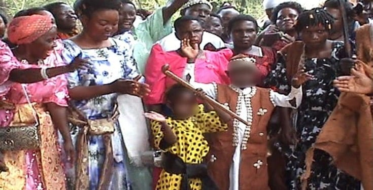 Ouganda/ insolite: Un garçon de 9 ans épouse une fille de 6 ans