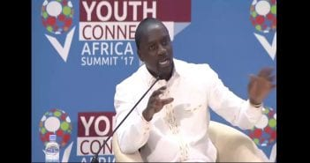 Akon at YouthConnekt Africa Summit 2017