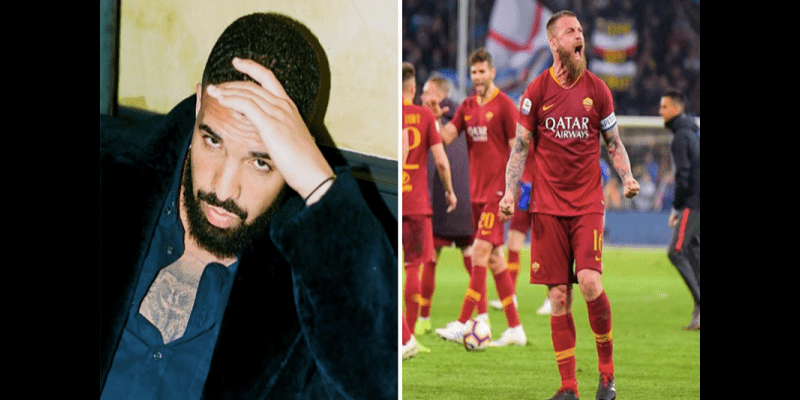 Les Giallorossi interdits de photo avec Drake