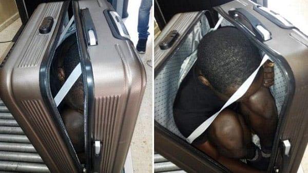 Les tableaux de bord de voitures et autres endroits où les Africains se cachent pour rallier l'Europe: Photos