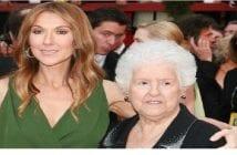 Céline Dion et sa mère
