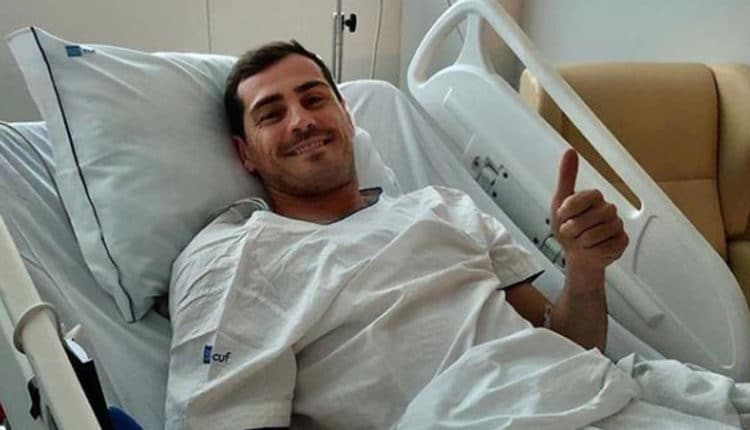 Football : Iker Casillas hospitalisé en urgence