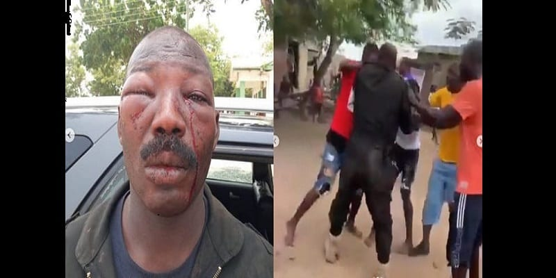 Police-brutality-Aggrieved-residents-retaliate-by-battering-an-officer-Video