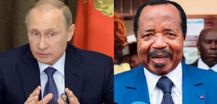 Cameroun: Vladimir Poutine a-t-il annoncé qu'il soutient Paul Biya?