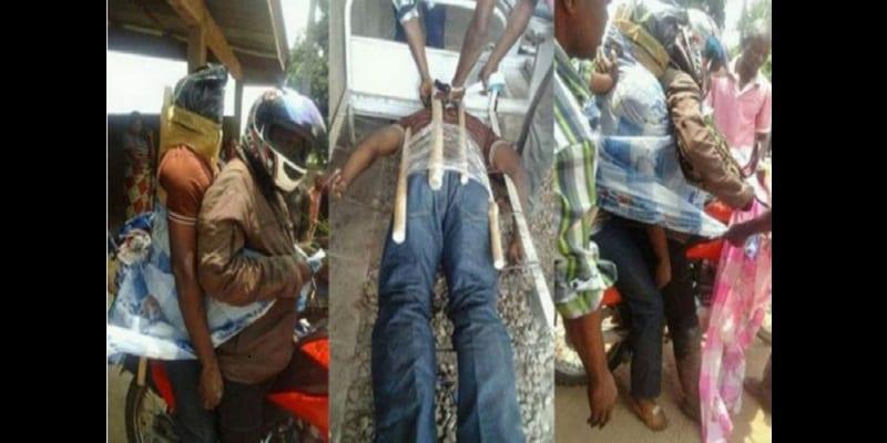 RD Congo: Les cadavres transportés à moto dans certaines zones rurales (Photos)