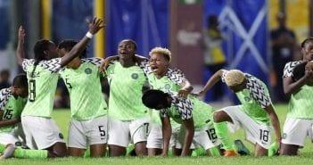 équipe féminine Nigéria