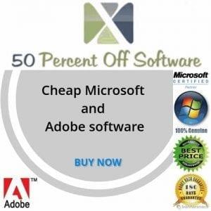 50percentoffsoftware.com: premier site de vente en ligne et livraison en ligne des logiciels Microsoft et Adobe Pro