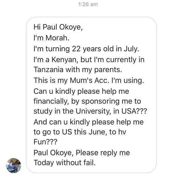 Paul Okoye menacé de mort par une jeune femme Kényane