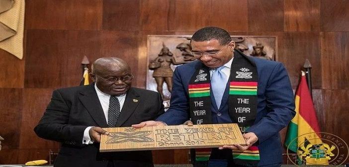 Ghana et Jamaïque