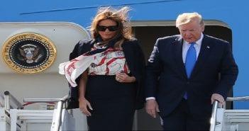 Trump et son épouse
