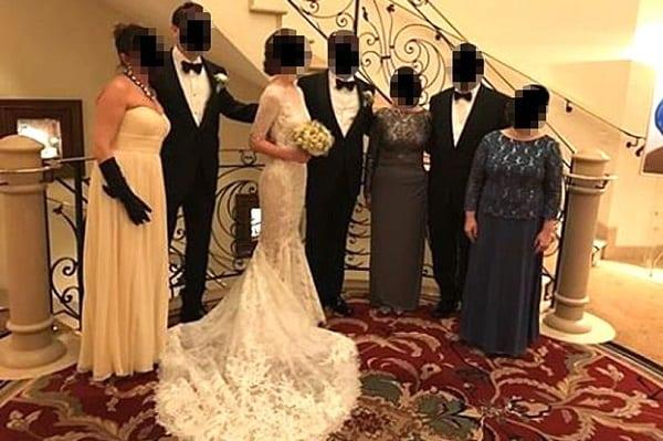 La belle-sœur vole la vedette à la mariée avec sa robe, pendant le mariage