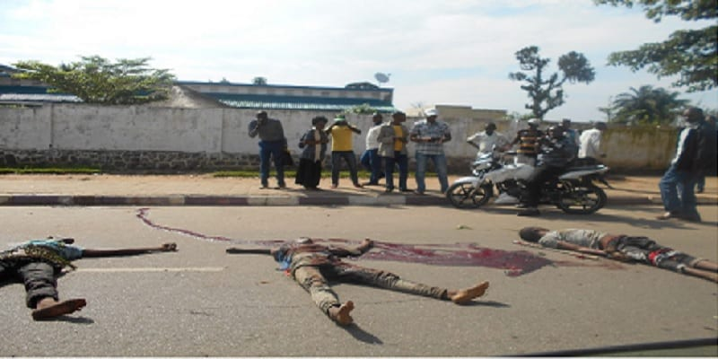 RDC meurtre