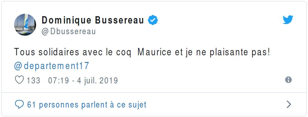 France: Maurice, le coq accusé de nuisance sonore a été jugé