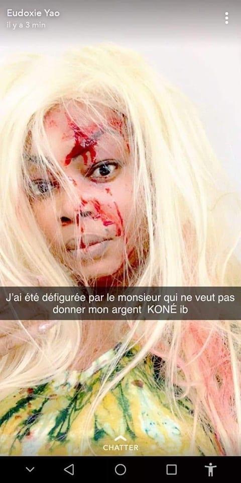 People: Eudoxie Yao agressée en France