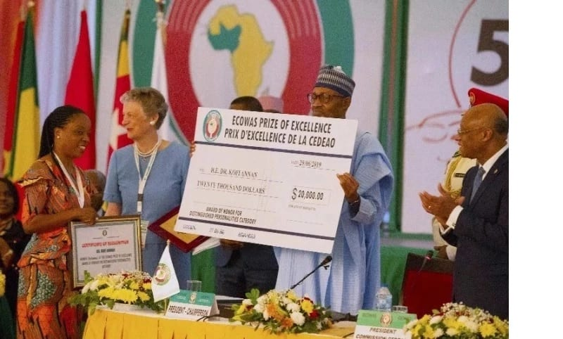 kofi Annan prix
