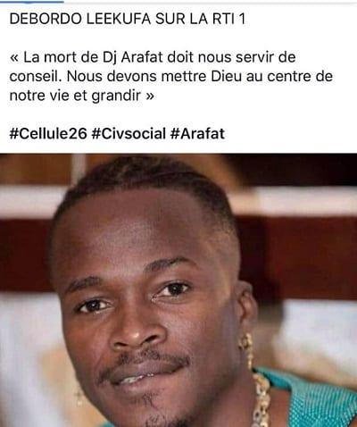 Mort de Dj Arafat: Davido, fally Ipupa, Drogba et d'autres célébrités lui rendent hommage (photos)