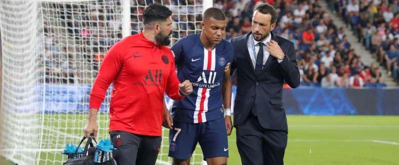PSG/blessure de Kylian Mbappé: sa durée d'indisponibilité est enfin connue