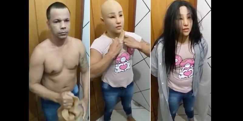 Un gangster se déguise en fille pour s'évader de prison