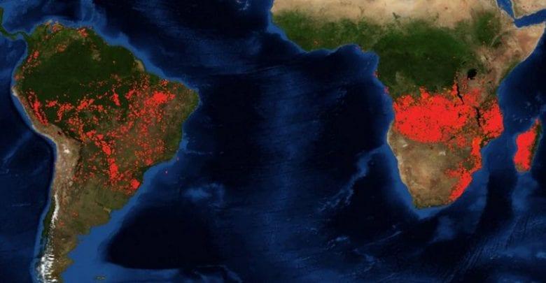 incendies Afrique Amazonie 1