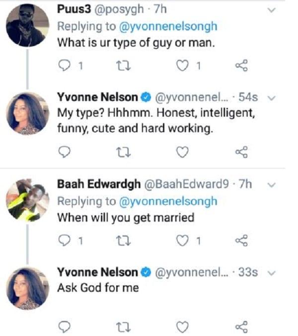 Yvonne Nelson : « J'ai perdu ma virginité en 2017 »