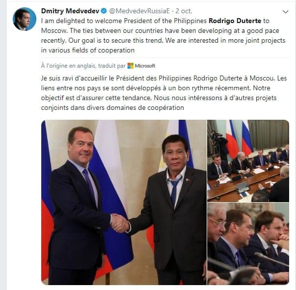 Rodrigo Duterte: son « corps répand une odeur rafraîchissante », dixit son porte-parole