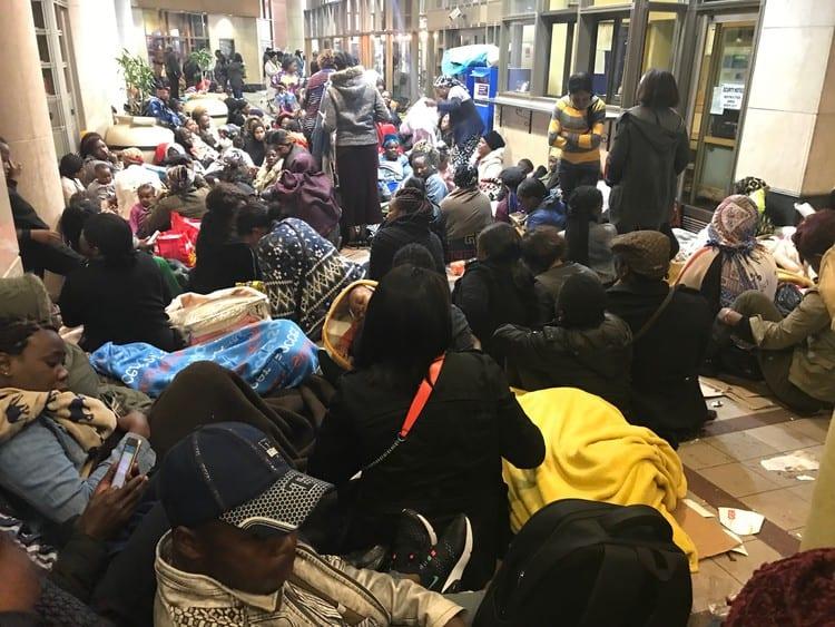 Attaque xénophobe en Afrique du Sud : les étrangers exigent leur rapatriement