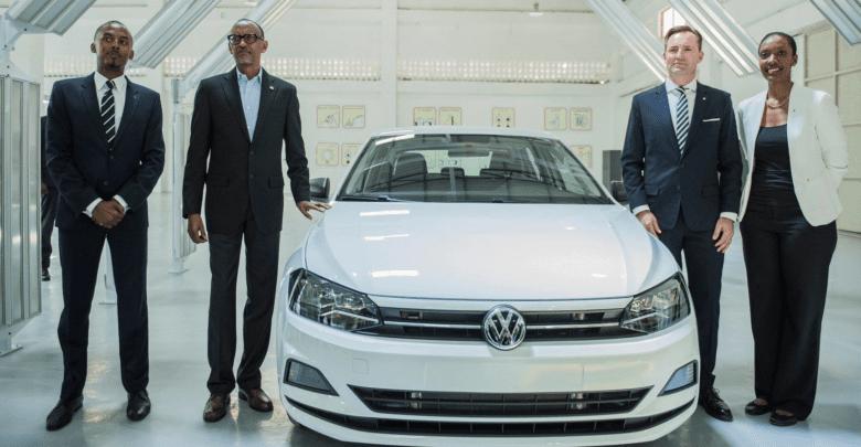 Les voitures Volkswagen fabriquées au Rwanda déjà sur le marché