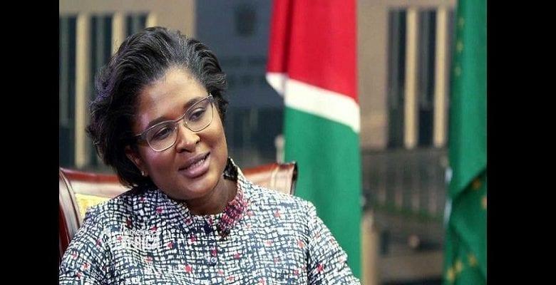 Namibia-first-lady-Monica-Geingos